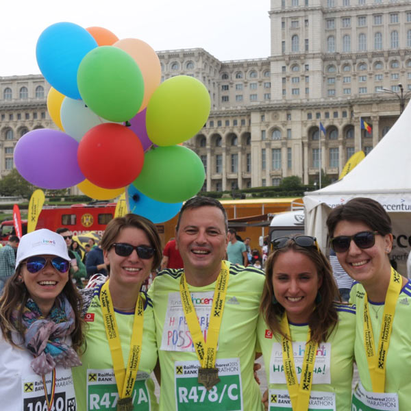 Inocenti At Bucharest Raiffeisen Marathon