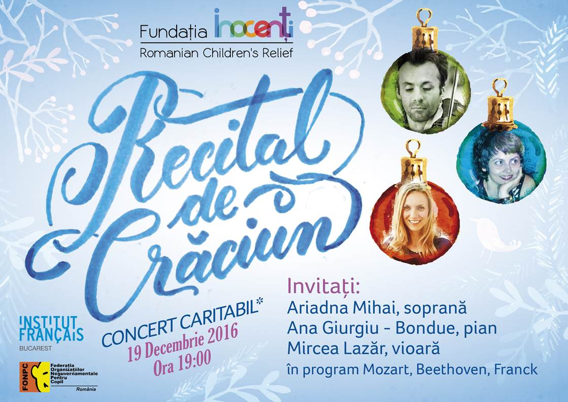 Classical Music Christmas Concert To Benefit Inocenti Foundation