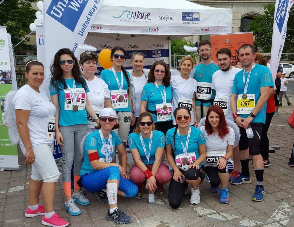 Run at the Bucharest Marathon for sick and hospitalized children!