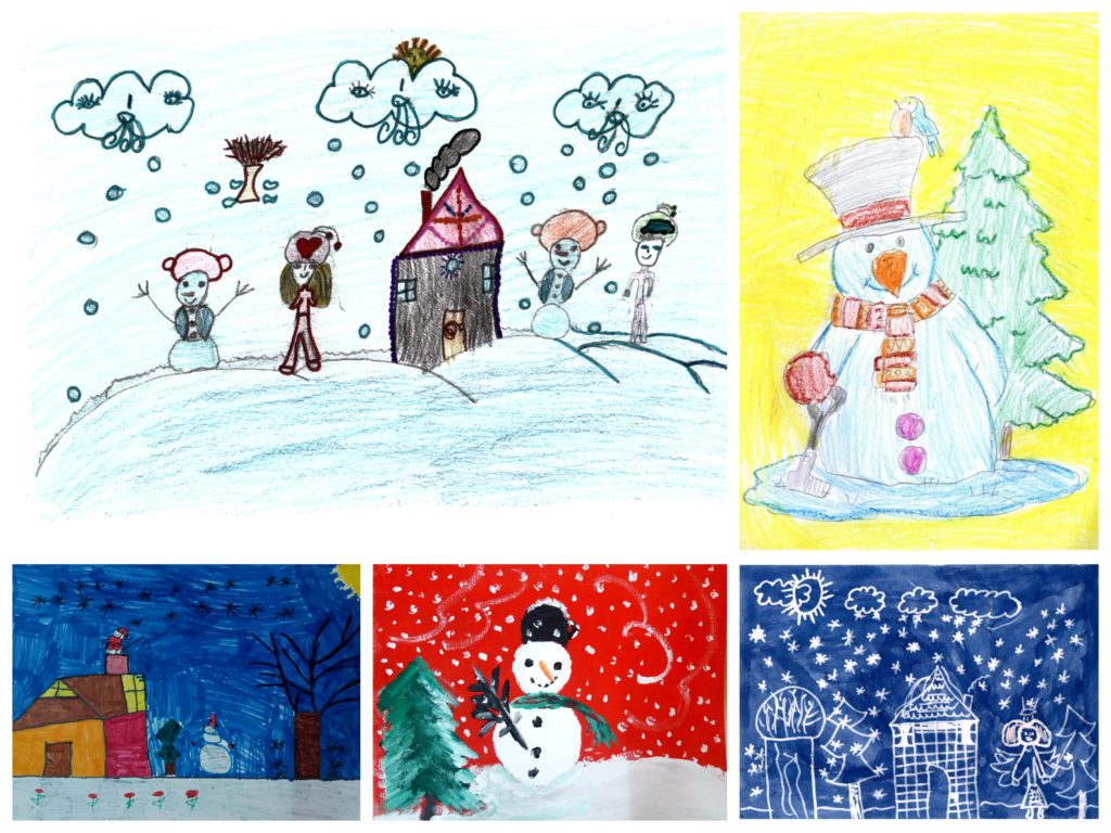 Holiday Cards designed by Inocenti Children