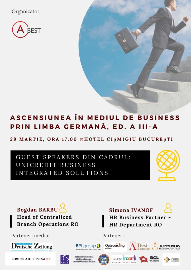 "A_BEST Conference: ""Ascending to the Business Environment by means of German "", 3rd edition"