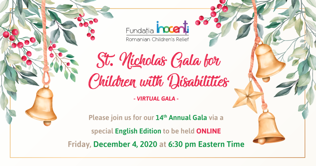 """St. Nicholas Gala for Children with Disabilities"""