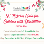 """""""St. Nicholas Gala for Children with Disabilities"""""""